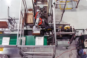 Motoman Robot Handling and Case Packing