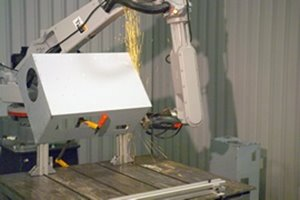 Industrial Grinding with a Motoman Robot