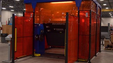 Machine Guarding for Robotic Welding Applications