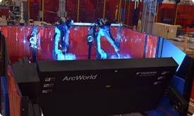 ArcWorld robotic welding station
