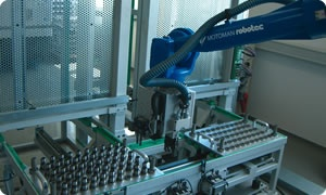 robotic loading and unload electro-discharge machine