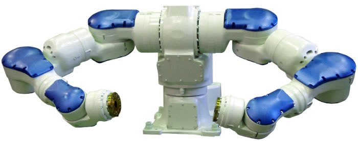 Dual-Arm Industrial Robot