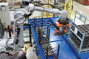 Robotic Handling and Machine Tending