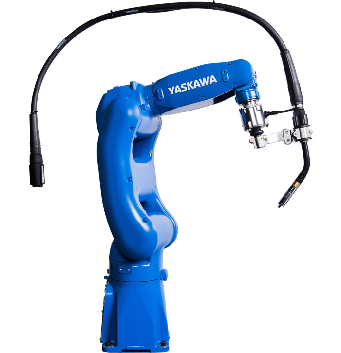 Compact, Six-Axis Arc Welding Robot