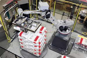 Motoman Robot Handling and Palletizing