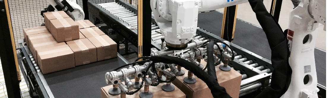 Easy and Efficient Robot Control for Secondary Packaging Operations