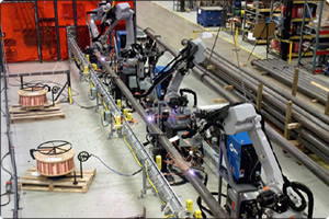 Motoman Robots Arc Welding and Handling