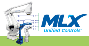 MLX 300 robot software add-on for PLC-based programming