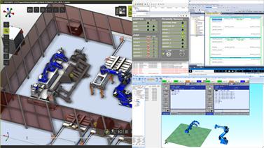 Robotic Simulation, OLP and Digital Twinning