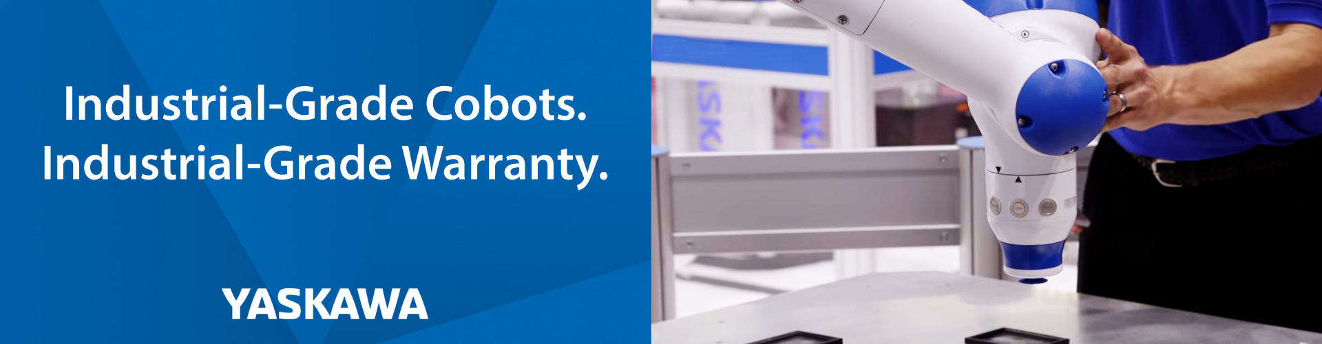 Yaskawa Offers Limited Time 2-Year Warranty on Collaborative Robots