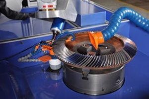 Motoman robotic deburring machine
