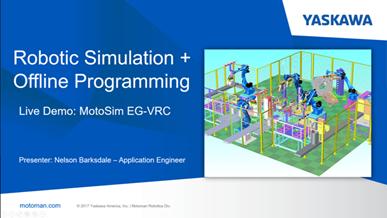 Robotic Simulation + Offline Programming