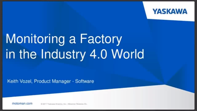 Monitoring a Factory in the Industry 4.0 World