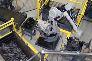 Motoman Robot Handling, Unloading and Palletizing